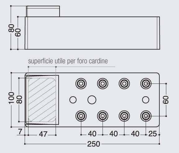 Montageelement Cardini