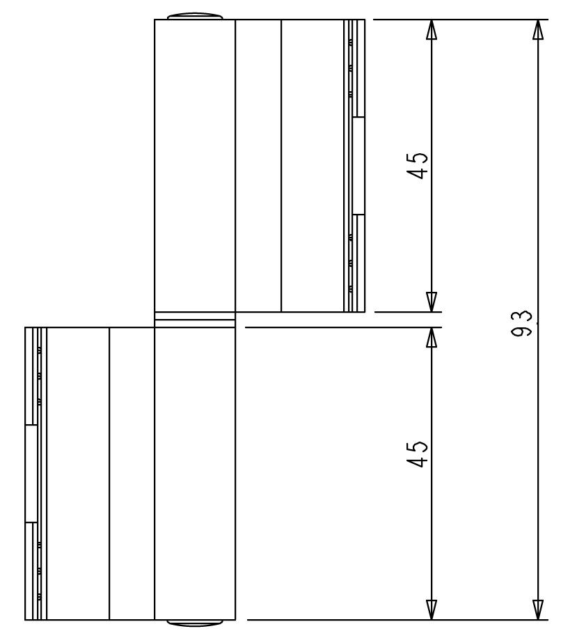 Cerniera giesse e accessori per serramenti giesse for Scheda tecnica anta ribalta giesse