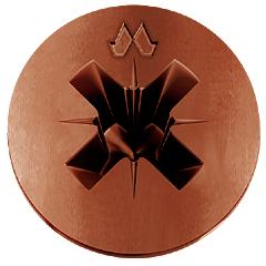 Flachkopf Senkschrauben Mustad Bronzed