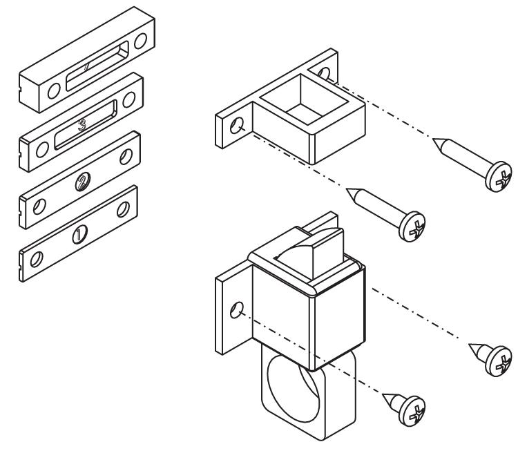 Finestre chiusura a vasistas accessori cricchetto grisbi universale giesse - Ferramenta per chiusura finestre ...