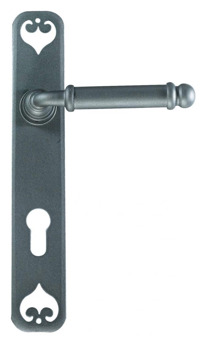 Promozione maniglia per porta su placca shop online galbusera lisbona windowo - Maniglia per porta ...