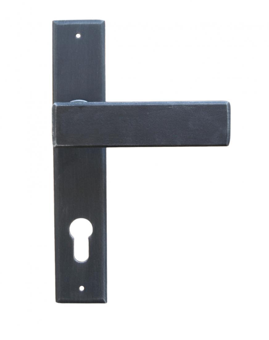 Maniglieria per porta su rosetta e placca galbusera stoccolma windowo - Maniglia per porta ...