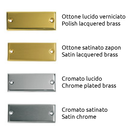Bal Becchetti window handle finishes Diana 114-10