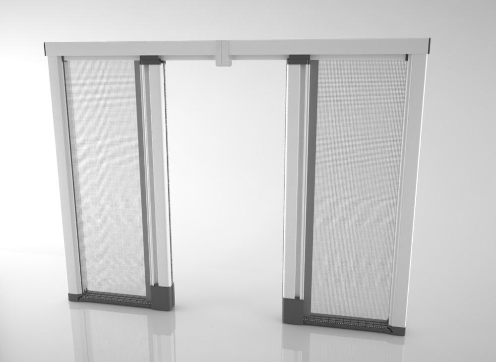 Acquista zanzariere su misura bettio scenica senza - Zanzariere mobili per finestre ...