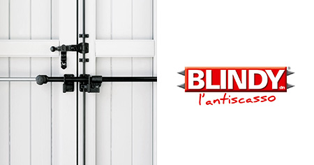 blindy burglar-proof bars for French windows