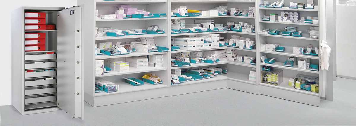 Safe for storing drugs, narcotics and narcotics GP Pharma Bordogna