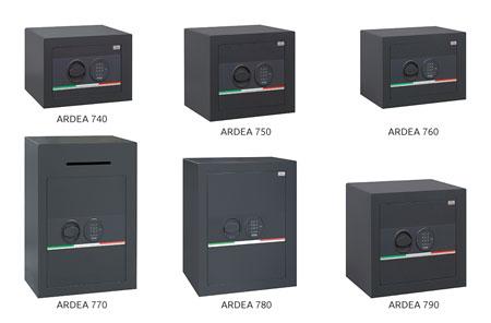 ardea safes bordogna features dimensions