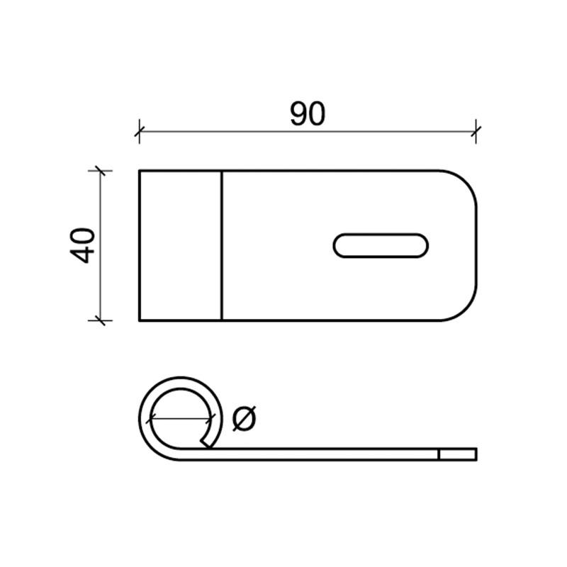 Hardware für Fensterläden CiFALL Maßnahmen