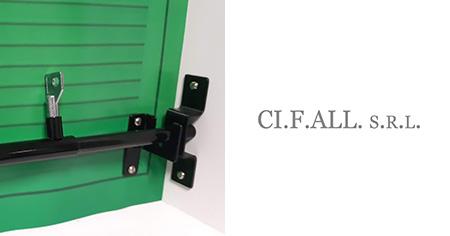 Giroblock barra antiscasso per porta finestra