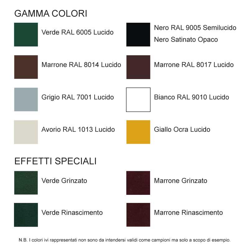 CiFALL Farben für Fensterläden Hardware