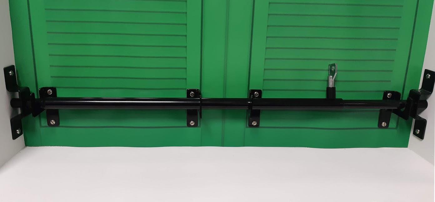 Sbarra Antiscasso Telescopica Giroblok Blindatura Porte e Finestre Estensibile