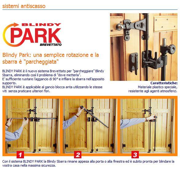 Acquista blindy park per parcheggiare la sbarra windowo - Sbarra di sicurezza per porte ...