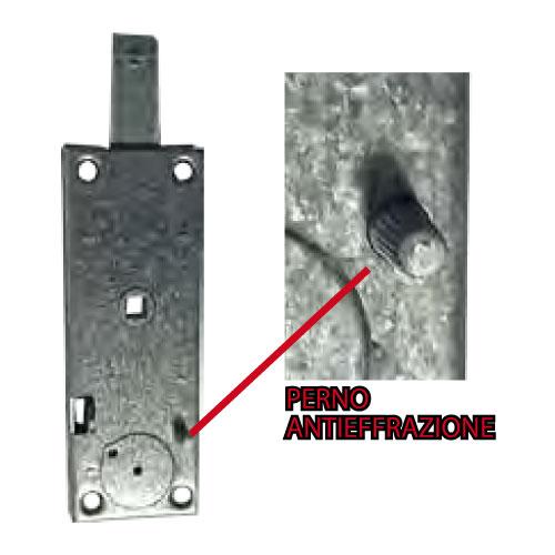 109 / S Verrouillage de sécurité pour amortisseur avec effet de levier et sur l'axe anti-intrusion FASEM