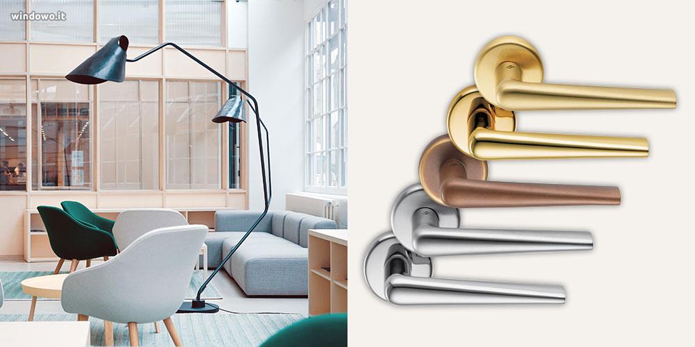 negozio maniglie design minimalista