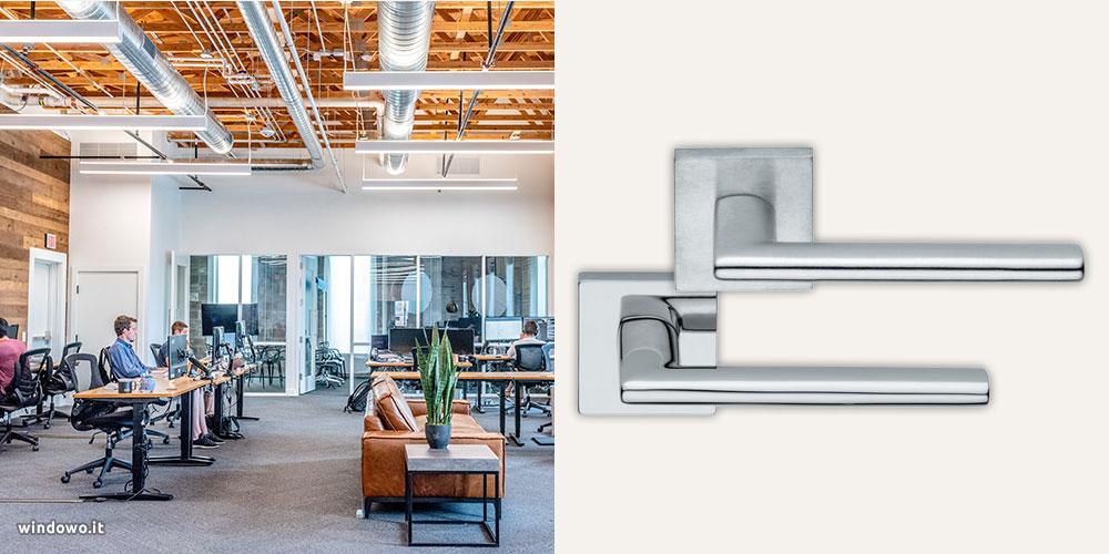 maniglie design ufficio moderno contemporaneo