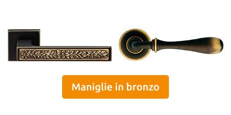 vendita maniglie in bronzo