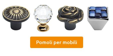 vendita pomoli per mobili negozio online