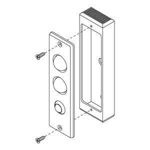 - Scatola in alluminio anodizzato argento per articolo 55011