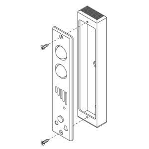 - Scatola in alluminio anodizzato argento per articolo 55012