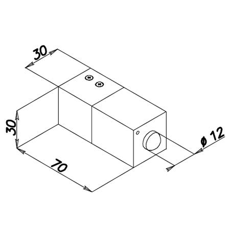 Elettropistone di Sicurezza con Microinterruttore 21613 Serie Quadra Opera