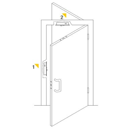 la serrure electronique pour portes battantes achetez le sur windowo. Black Bedroom Furniture Sets. Home Design Ideas