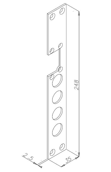 Accessori da applicare su porte blindate con catenacci - Catenacci per porte blindate ...