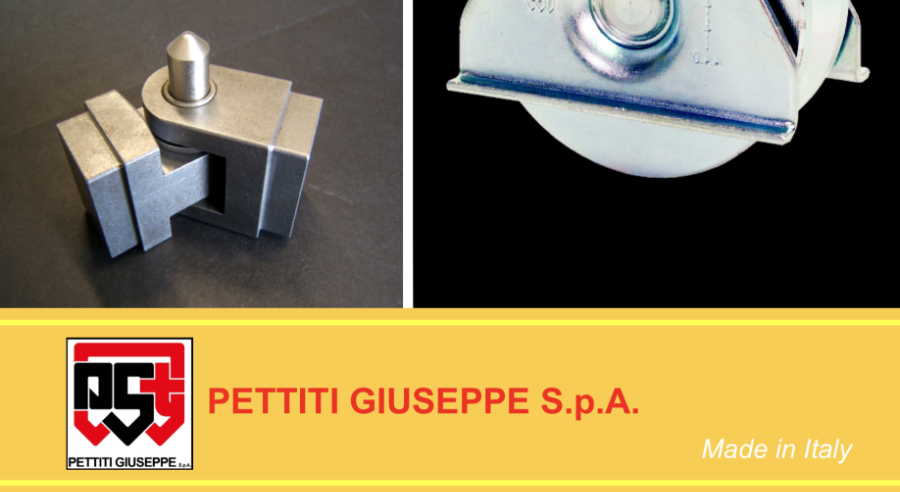 Pettiti Giuseppe - Accessories for sliding doors and metal doors online sale
