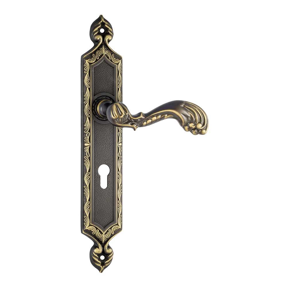 Migliori Maniglie Per Porte Interne 1080/1030 narooma class maniglia per porta su placca frosio bortolo di arte  made in italy