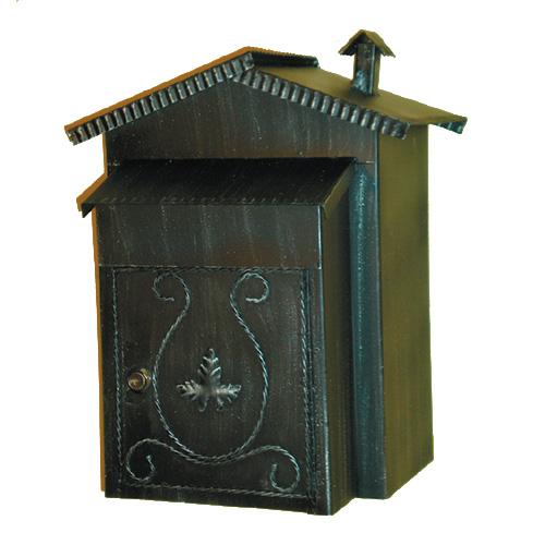 Cassetta della posta per casa rustica fatta a mano - Oblo tetto casa ...