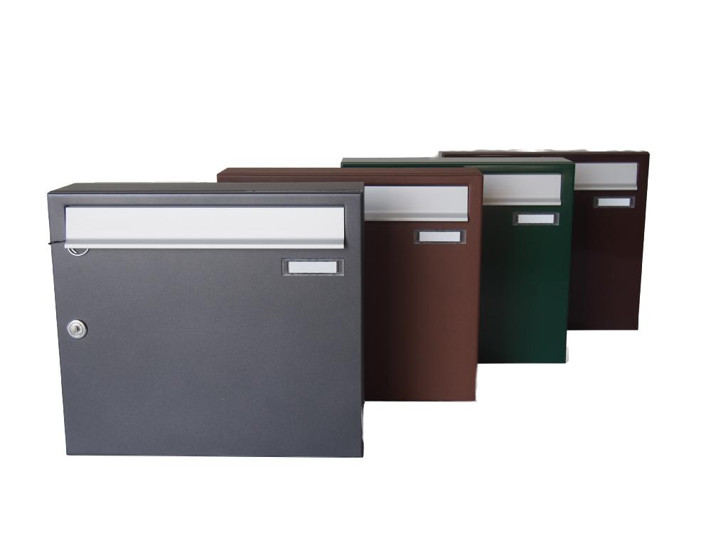 Acquista master zwick cassetta postale singola ad uso esterno compra online le cassette - Colori da esterno ...