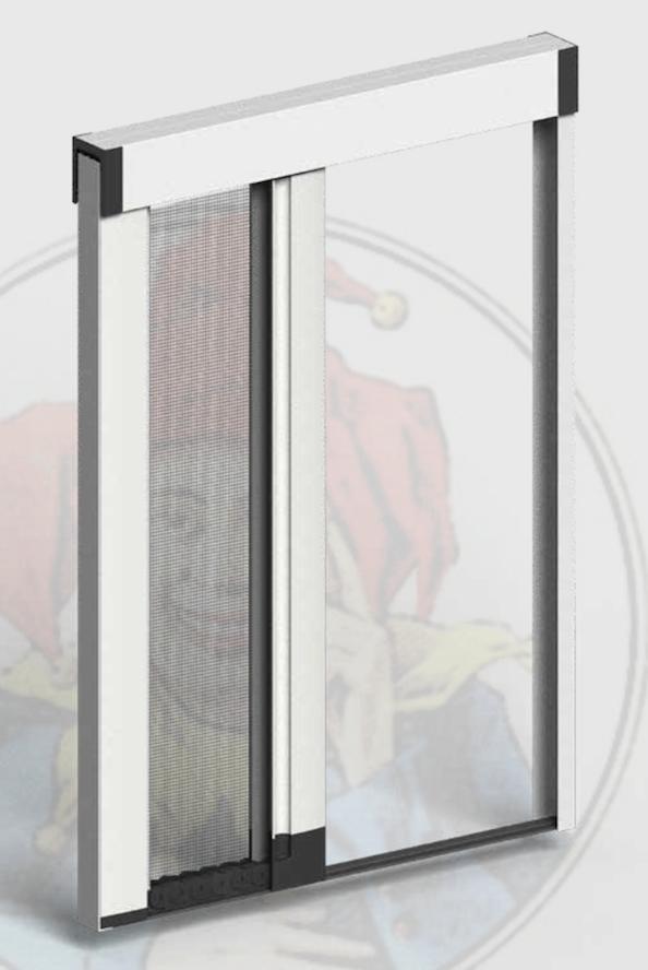 Jolly Zanzar Sistem Acquista Zanzariere su Misura per Porte-Finestre  Windowo