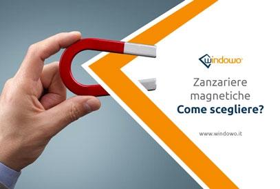 Zanzariere magnetiche: caratteristiche e vantaggi