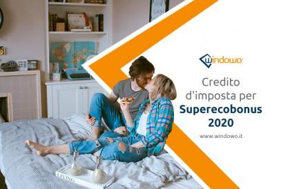 Credito d'imposta per Superecobonus 2020