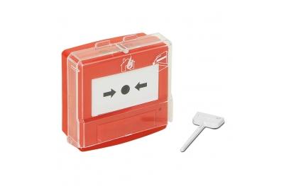 05110R Teca per Attivazione Allarme per Centrale Antincendio Monozona EN54