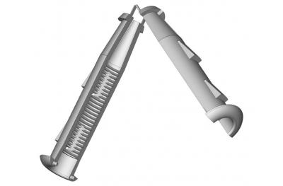Tassello per Cardine M12 Rasatura Muro 5mm Esinplast