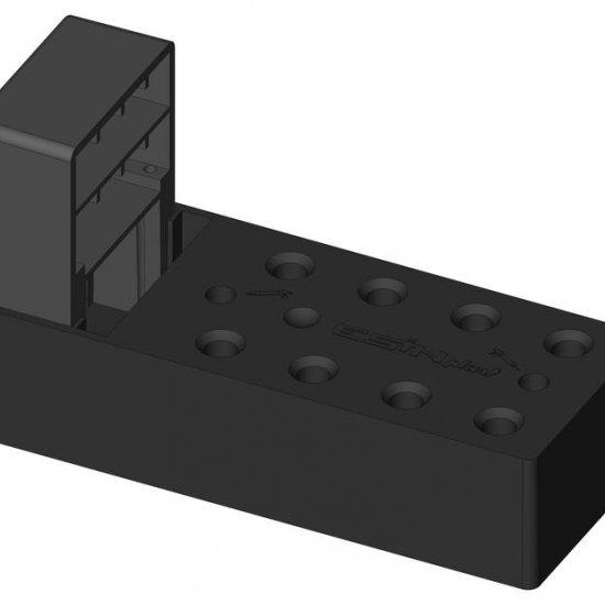 Elemento Montaggio Cardini Con Tassello Per Cappotti Fino A 140mm Esin