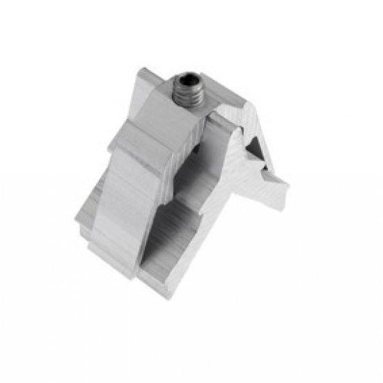 Squadretta Ad Avvitare Alluminio Alutec 15x25mm