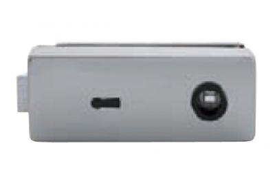Serratura per Vetro Tropex con Foro Chiave Tropex 165x65mm