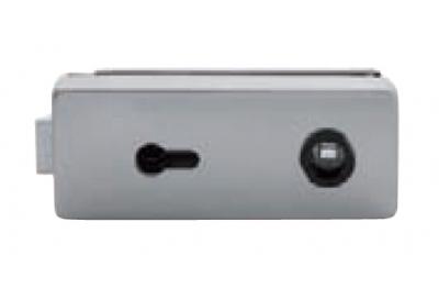Serratura per Vetro Tropex con Foro Yale Tropex 165x65mm