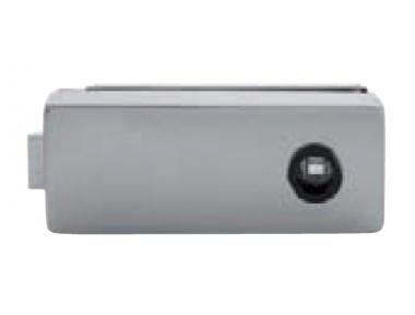 Serratura per Vetro Senza Foro Chiave Tropex 165x65mm