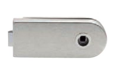Serratura per Vetro Senza Foro Chiave Tropex 160x65mm