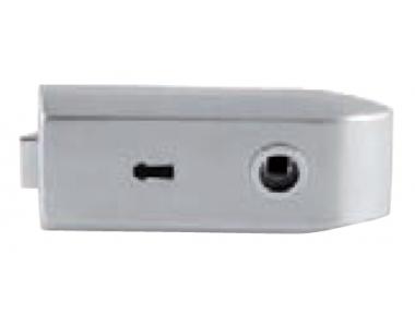 Serratura per Vetro Tropex con Foro Chiave Tropex 175x75mm
