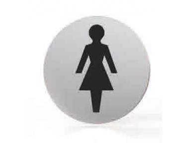Pittogramma per Bocchetta Tonda Bagno Donne Toilette Tropex