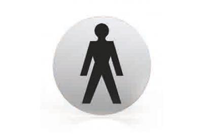 Pittogramma per Bocchetta Tonda Bagno Uomini Toilette Tropex