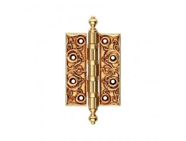 1270 CE Cerniera per Porta di Legno Linea Calì Barocca e Raffinata con Decorazioni di Lusso