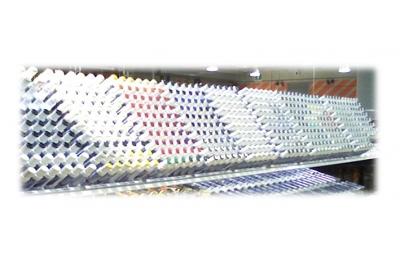 Espositore Stilo da Ritocco per Alluminio in Plastica con Supporto E.P. Vit