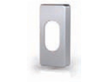 Bocchetta Cilindro Rettangolare Ovale in Acciaio Inox Tropex