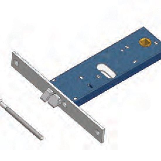 Scrocco 899f22 Omec Serratura Elettrica A Fascia Per Alluminio