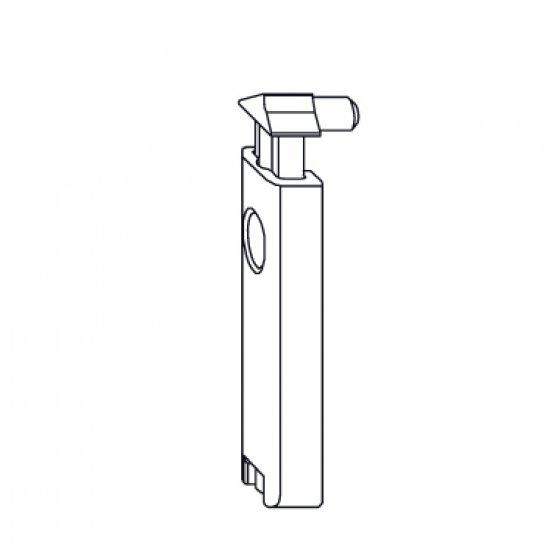 Fermo A Scatto Porta Balcone Comfort Accessorio Siegenia Titan