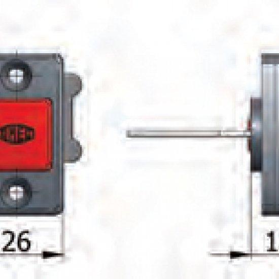 Offerte pazze Comparatore prezzi  Pulsante Meccanico Di Apertura Omec Fermo A Giorno Con Viti Serratura  il miglior prezzo